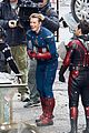 avengers set photos january 10 29