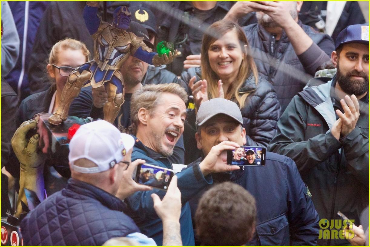 Robert Downey Jr Amp Paul Rudd Wrap Avengers 4 Filming