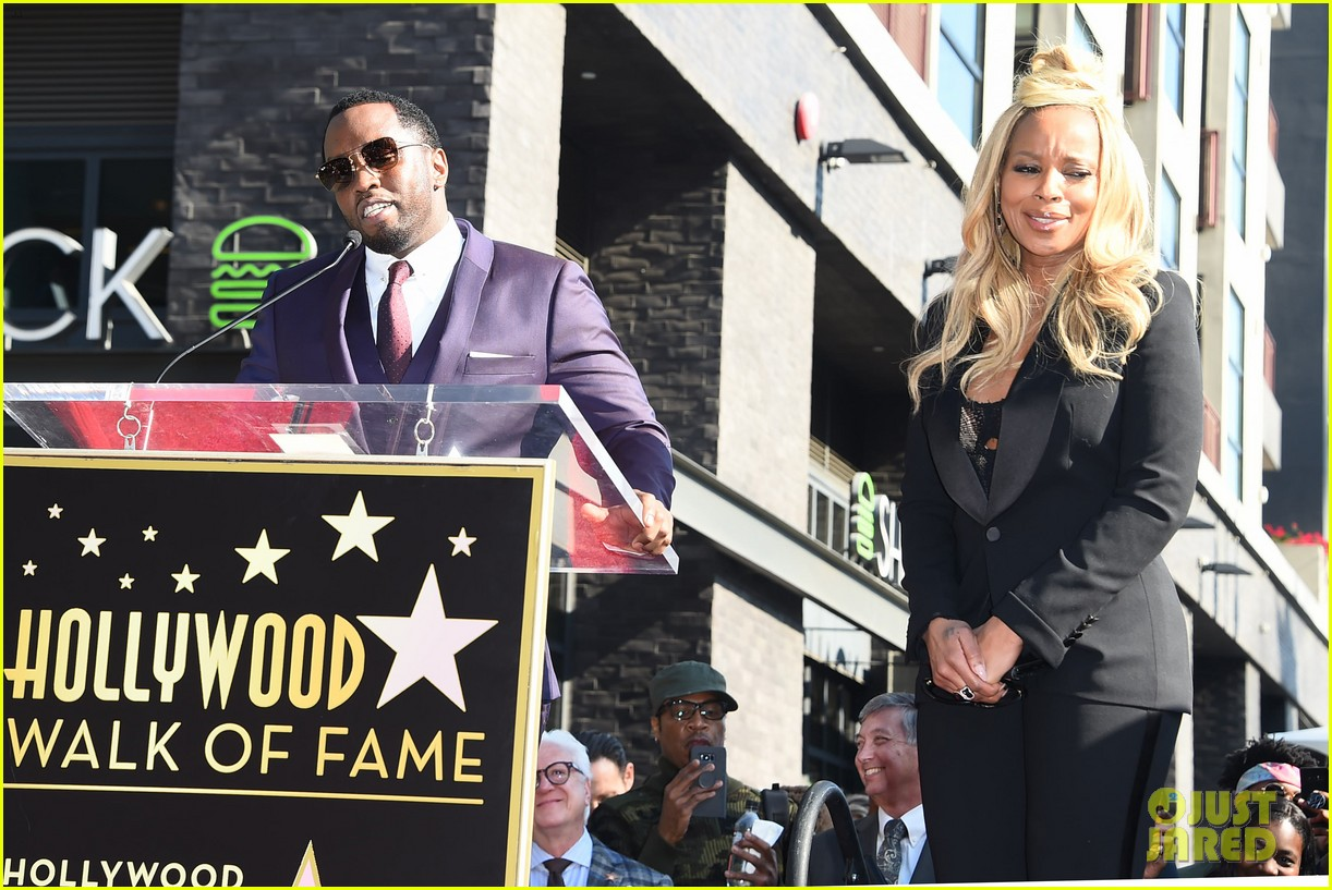 mary j blige receives star on hollywood walk of fame 074012705