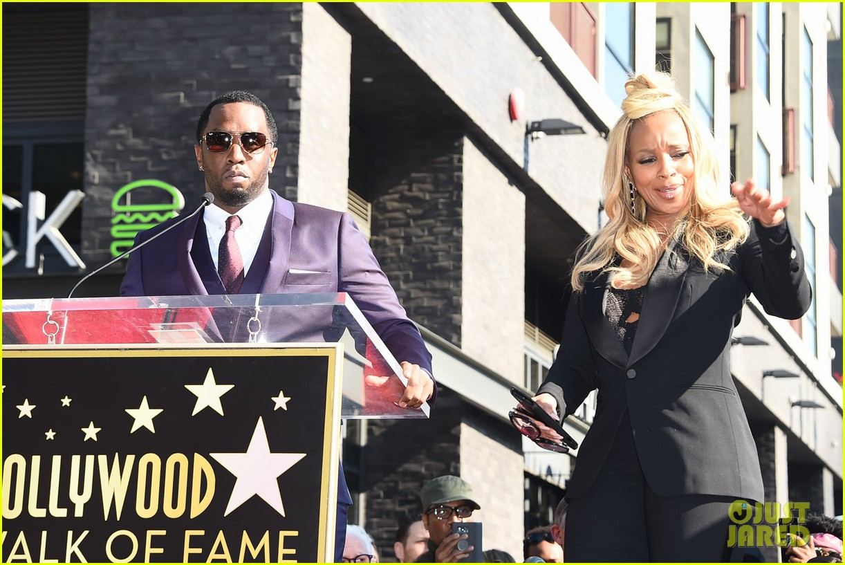 mary j blige receives star on hollywood walk of fame 104012708