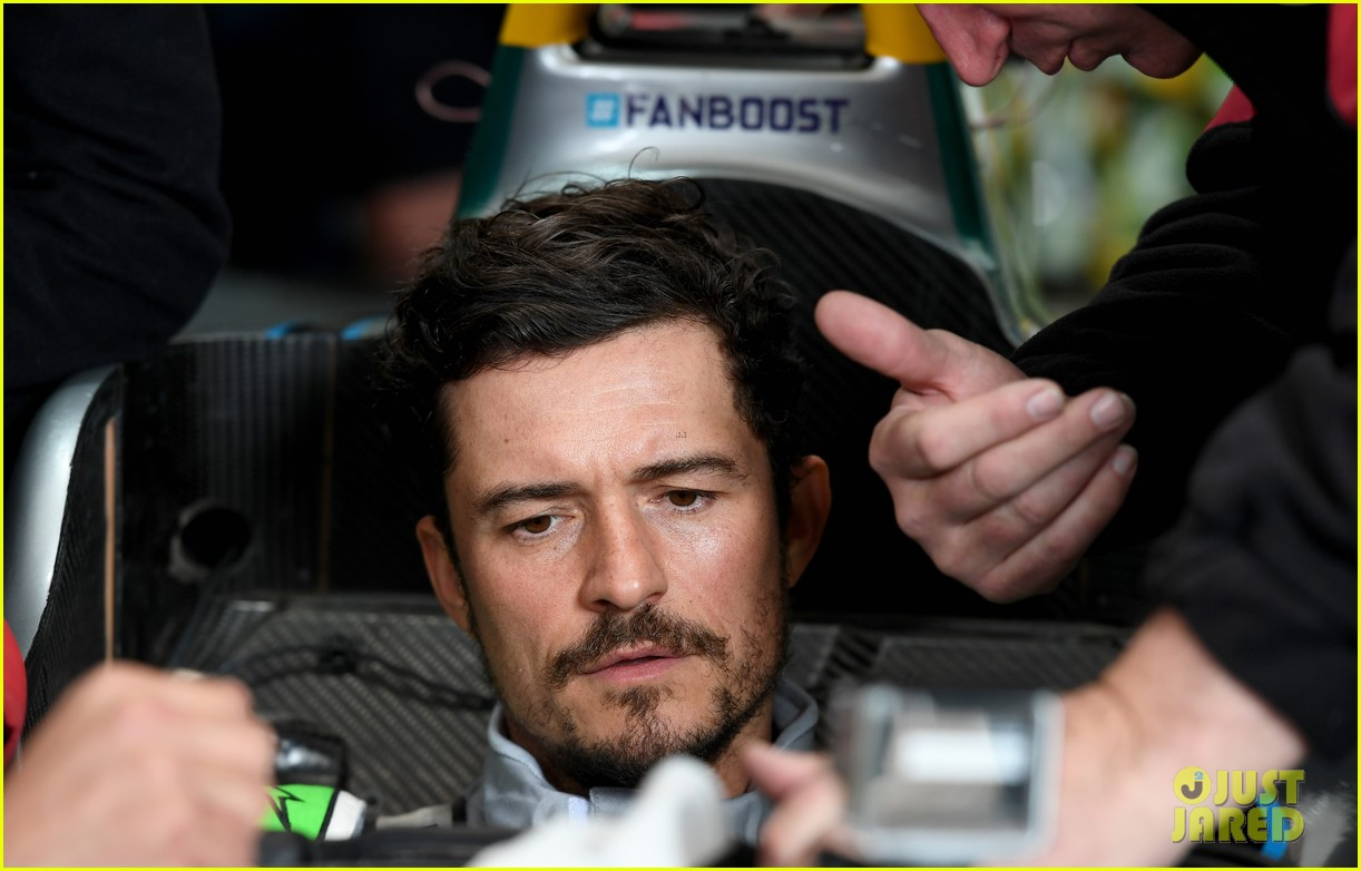 orlando bloom celebrates 41st birthday with racing in morocco 164014215
