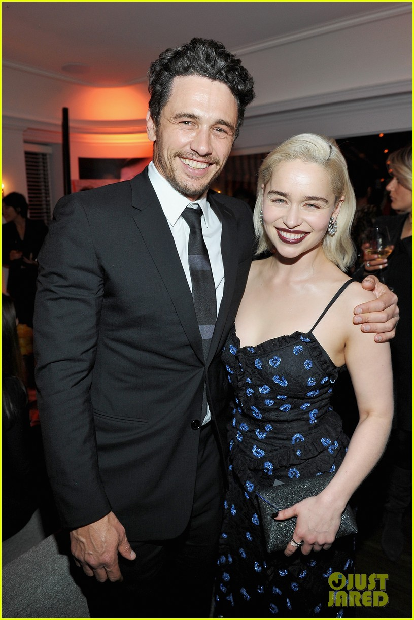 Clarke Emilia and james franco pictures images