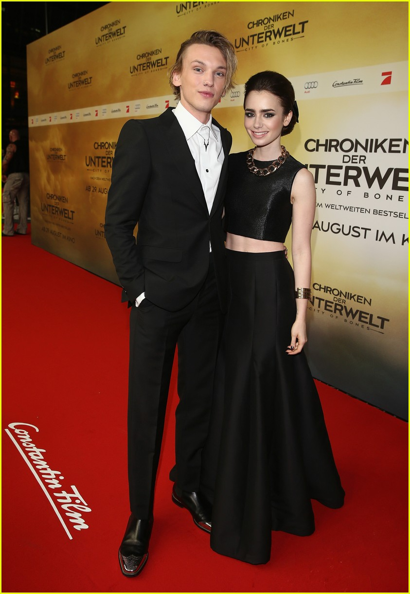 Lily Collins & Jamie Campbell Bower Dating Again BeautifulBallad
