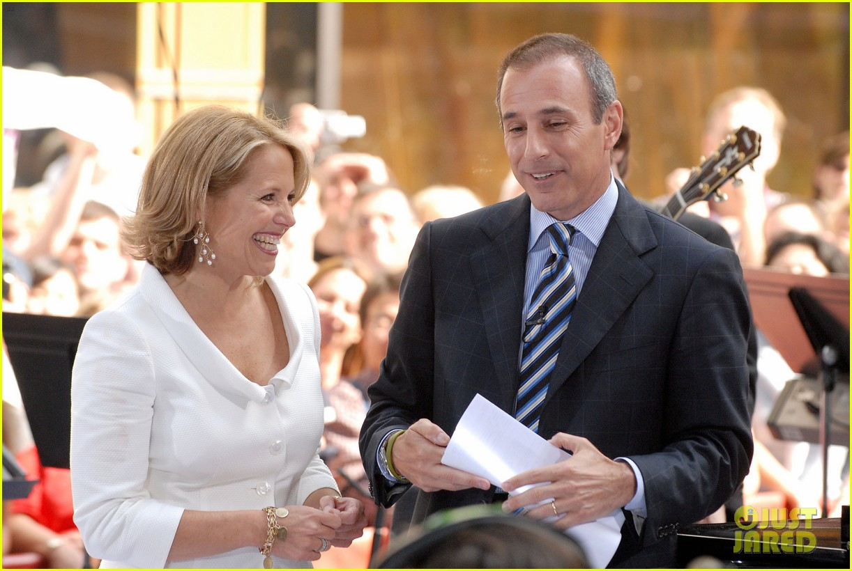 katie couric matt lauer photos 104014155
