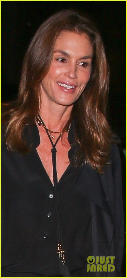 cindy crawford rande gerber step out for date night in weho 044014356