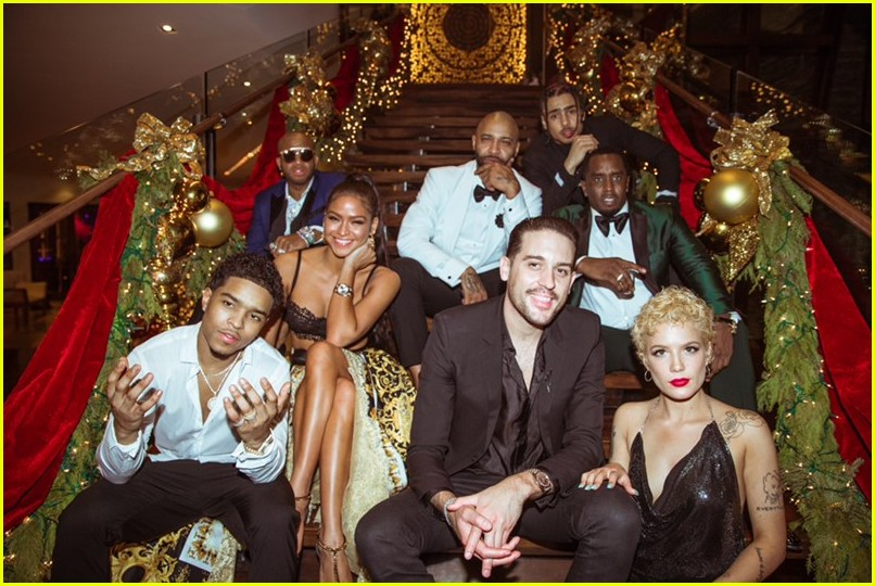 diddy hosts a star studded nye party at his miami home 054006551