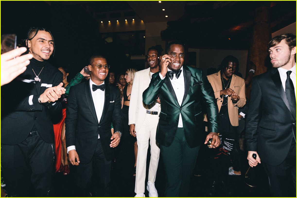 diddy hosts a star studded nye party at his miami home 224006568