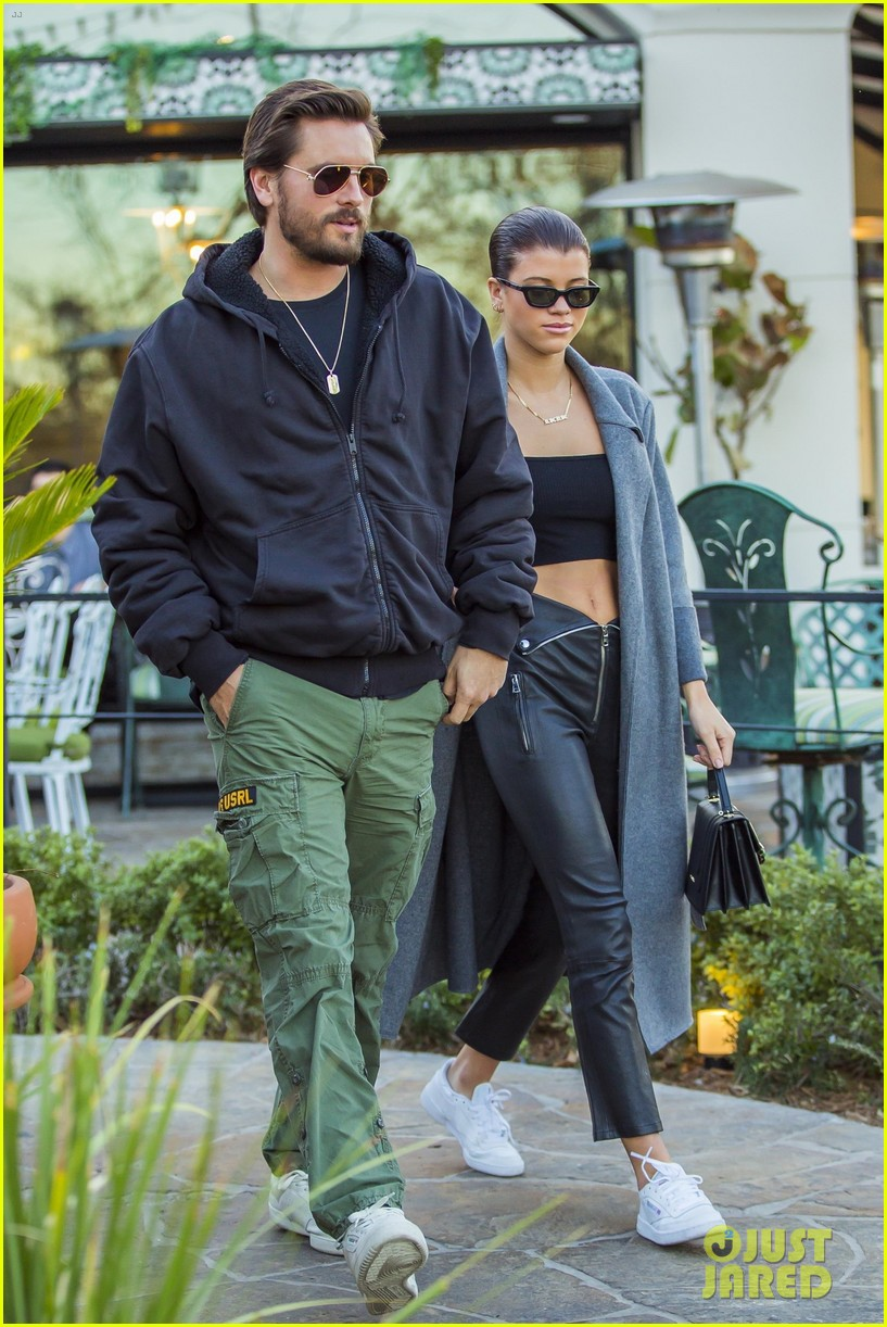 Scott Disick & Sofia Richie Couple Up for Dinner Date at