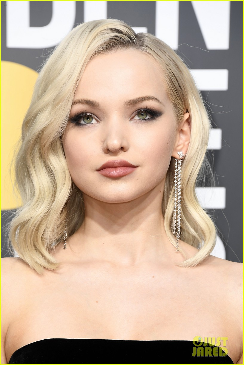 Dove Cameron Stuns at Golden Globes 2018: Photo 4009318 ...