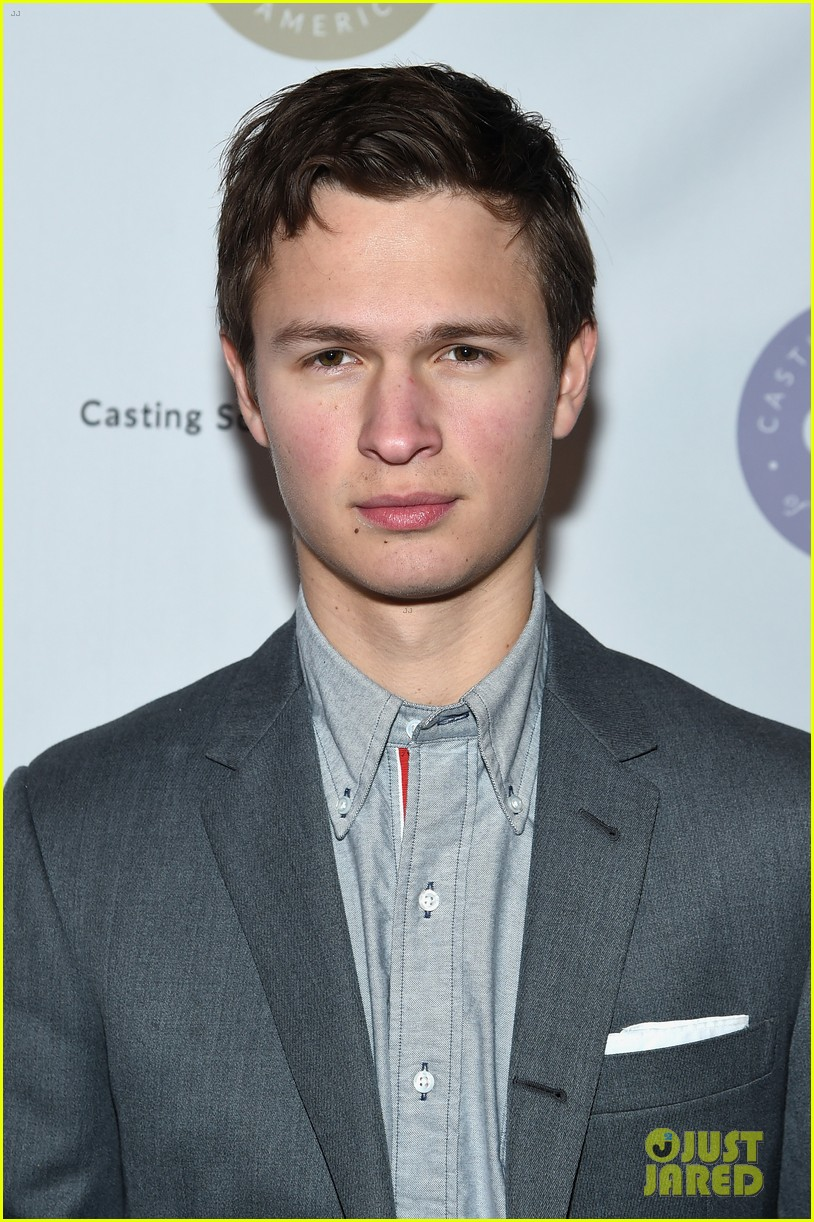 ansel elgort looks dapper at artios awards 2018 in nyc 134016488