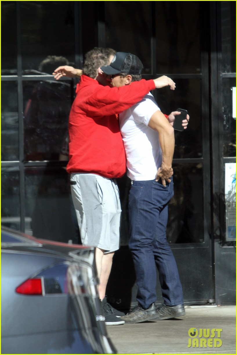 james franco lunches with jeff garlin 014020302