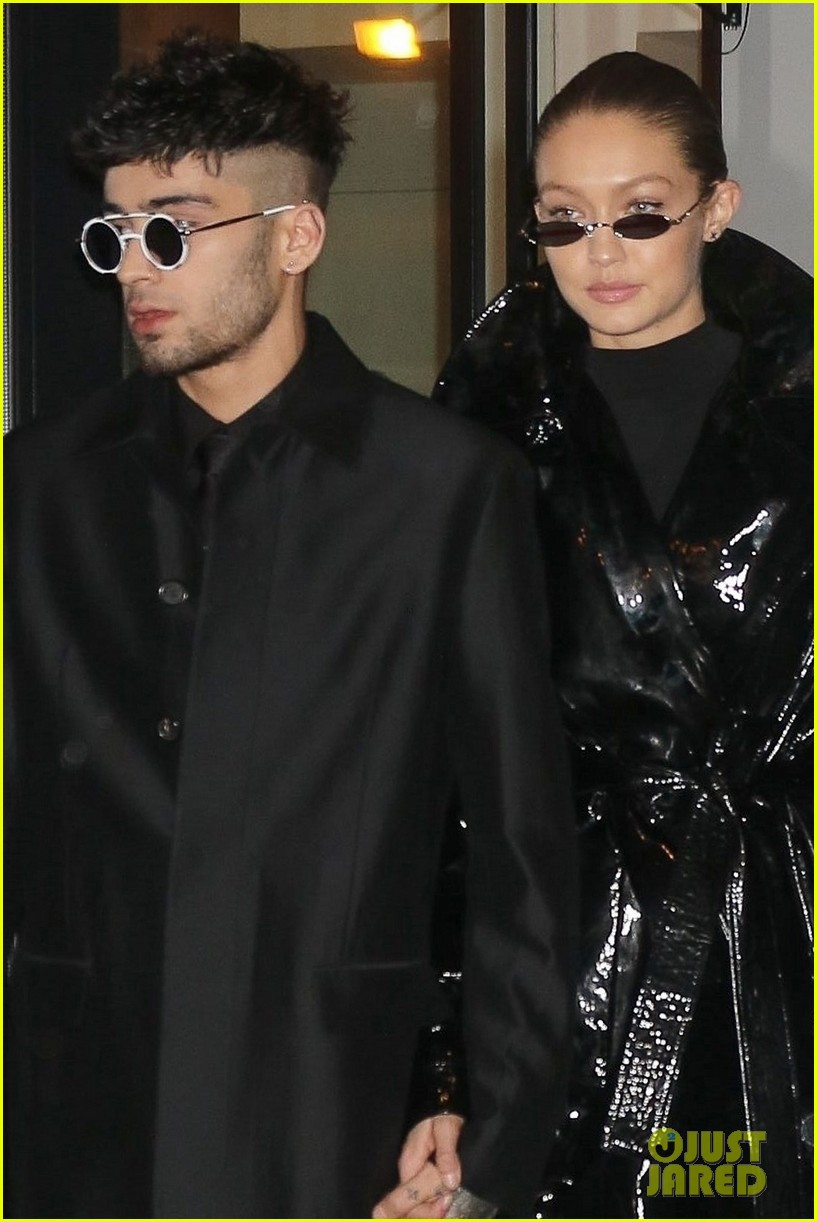 gigi hadid zayn malik birthday night out 064014080