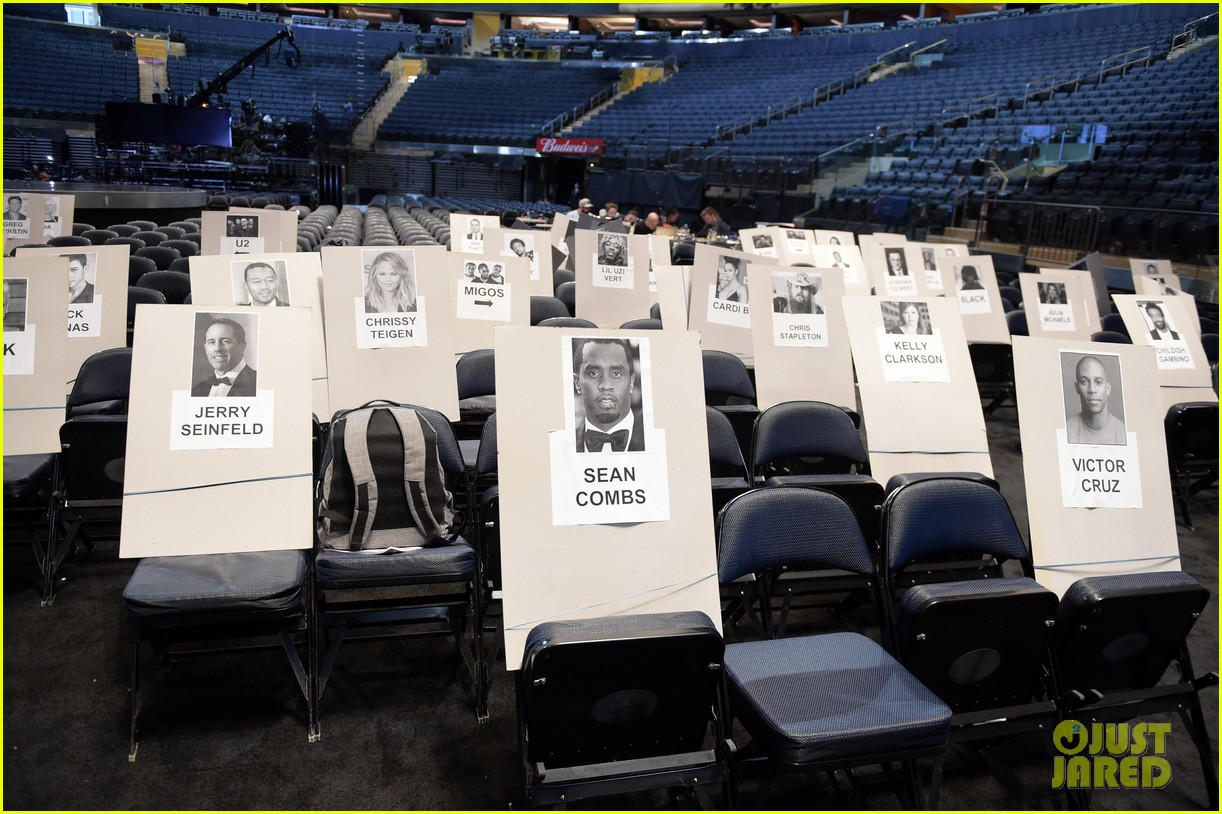 grammys 2018 seating chart revealed 084021283