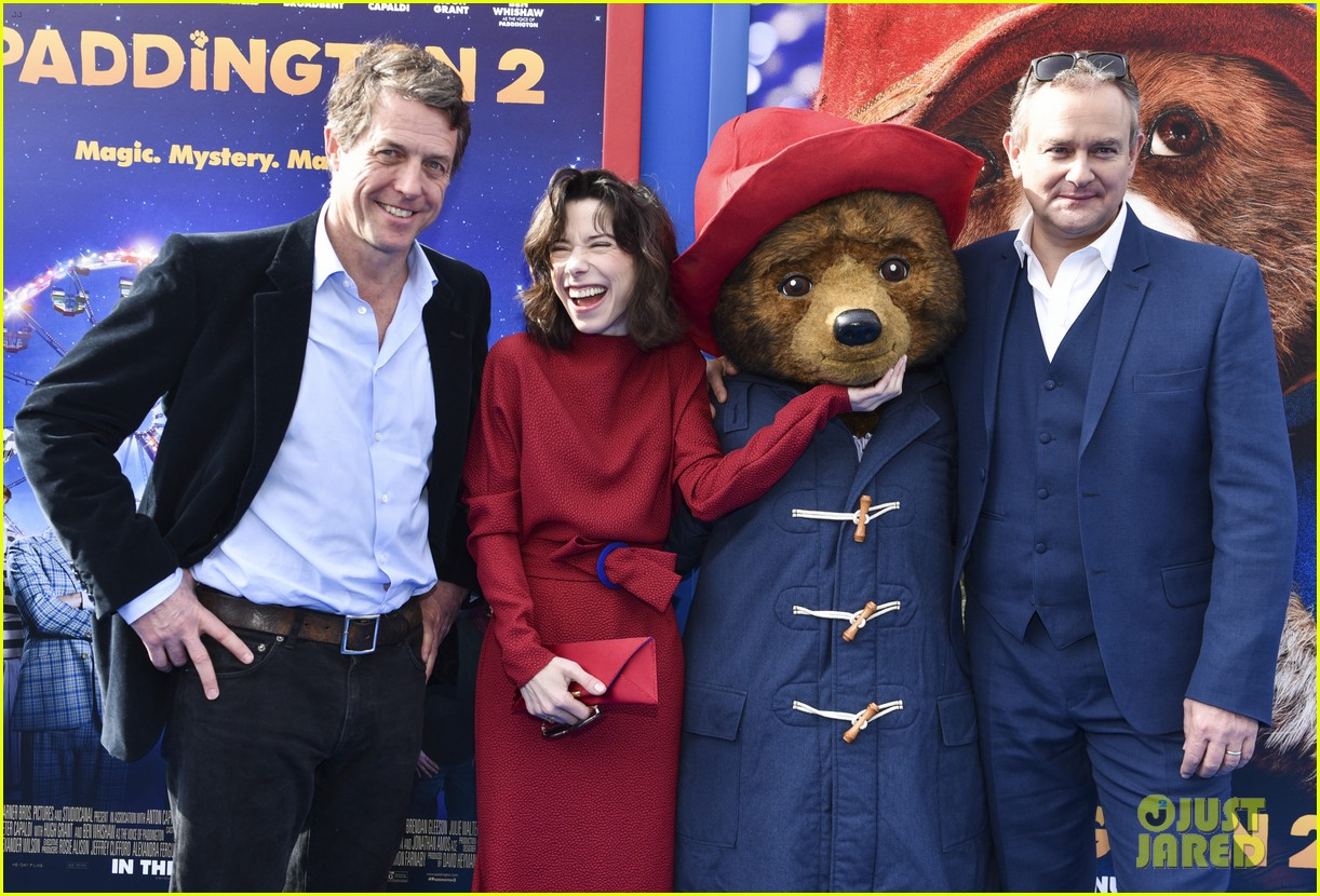 hugh grant sally hawkins hugh bonneville step out for paddington 2 premiere 054008691