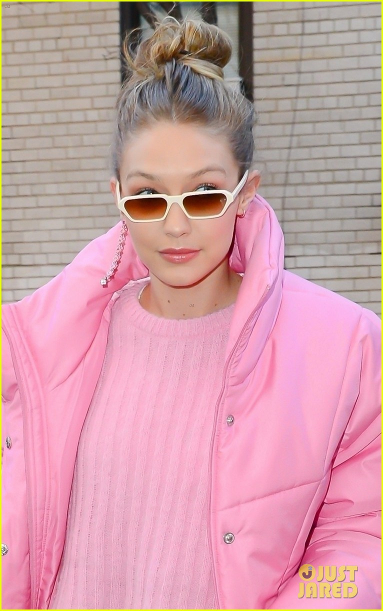 gigi hadid brightens up the streets of new york city 024011797