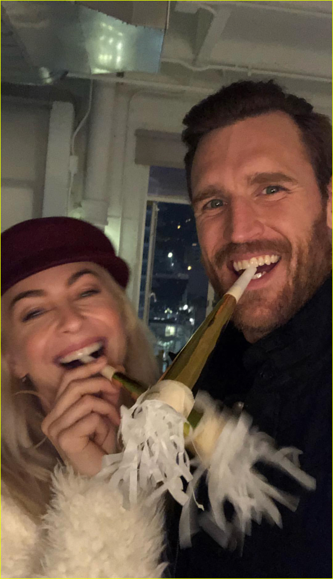 Julianne Hough Shares Tons Of Photos From Nye With Husband