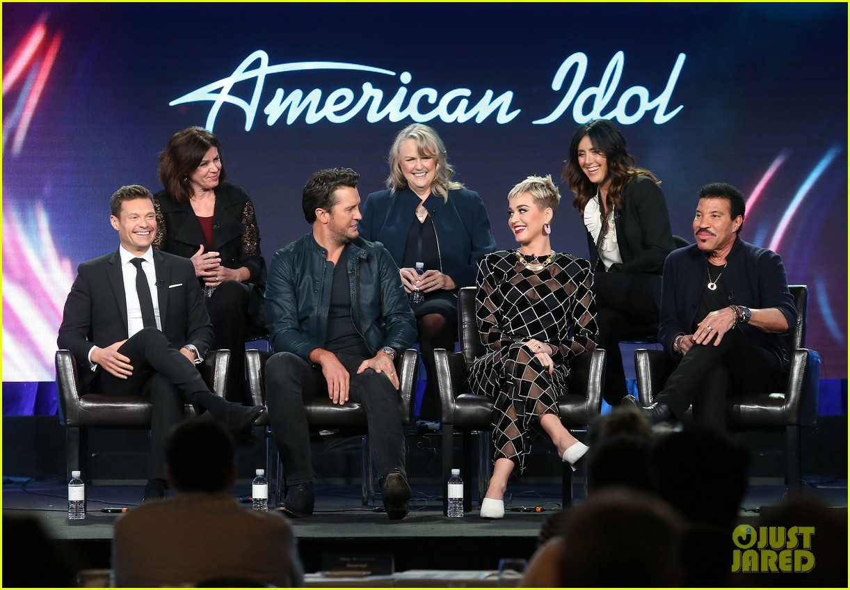 katy perry luke bryan and lionel richie talk american idol at winter tca press tour 2018 074011139