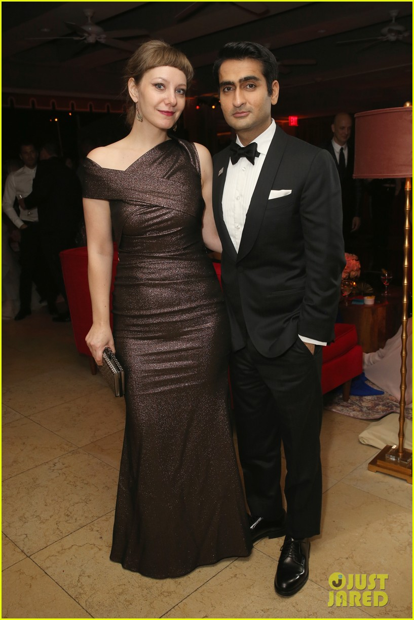 lily james joins boyfriend matt smith more at netflix sag awards after party 224019261