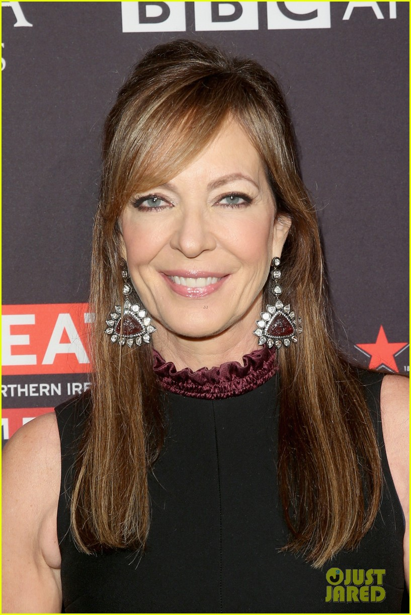 allison janney laurie metcalf step out for bafta tea party 104008807