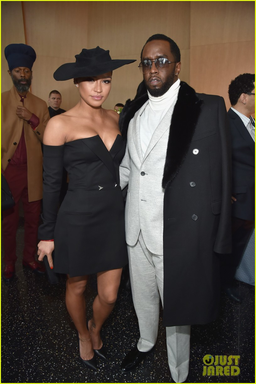 jay z joins diddy cassie at roc nation grammys 2018 brunch 014022090