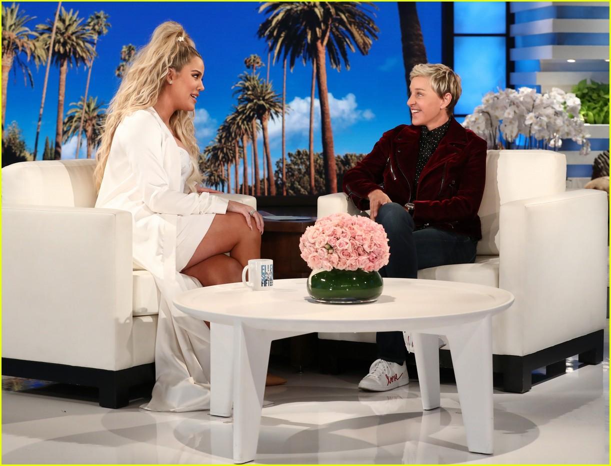khloe kardashian ellen pregnant 014007168