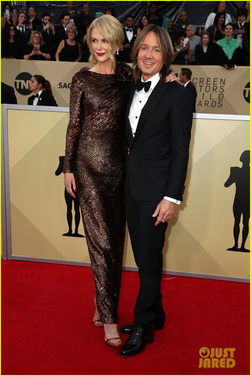 Nicole Kidman Keith Urban Couple Up At Sag Awards