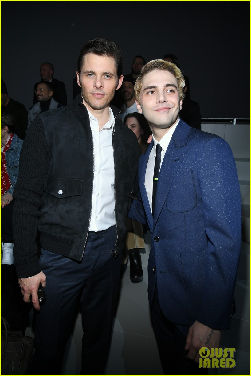 james marsden brings son jack to louis vuitton menswear paris fashion show 014016275