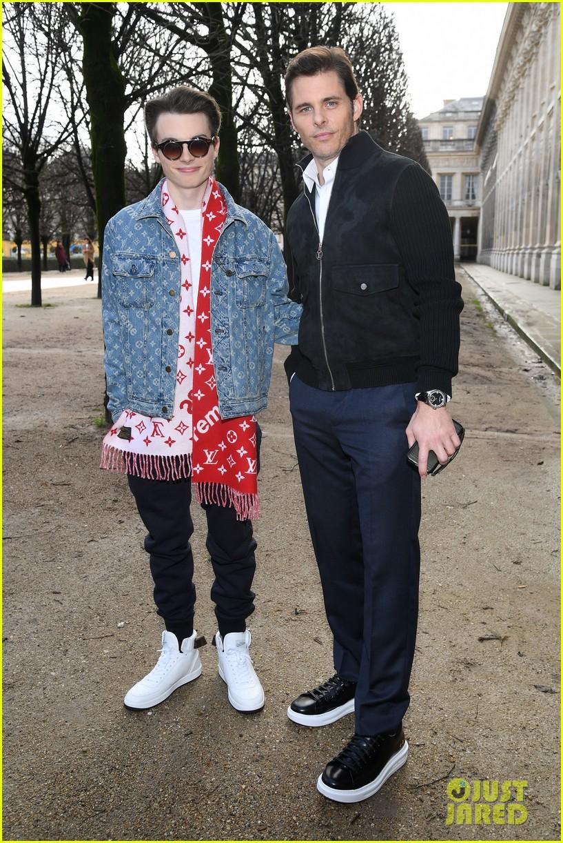 james marsden brings son jack to louis vuitton menswear paris fashion show 094016283