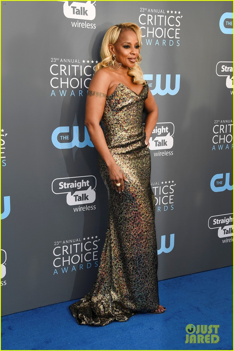 mary j blige critics choice 2018 034013100