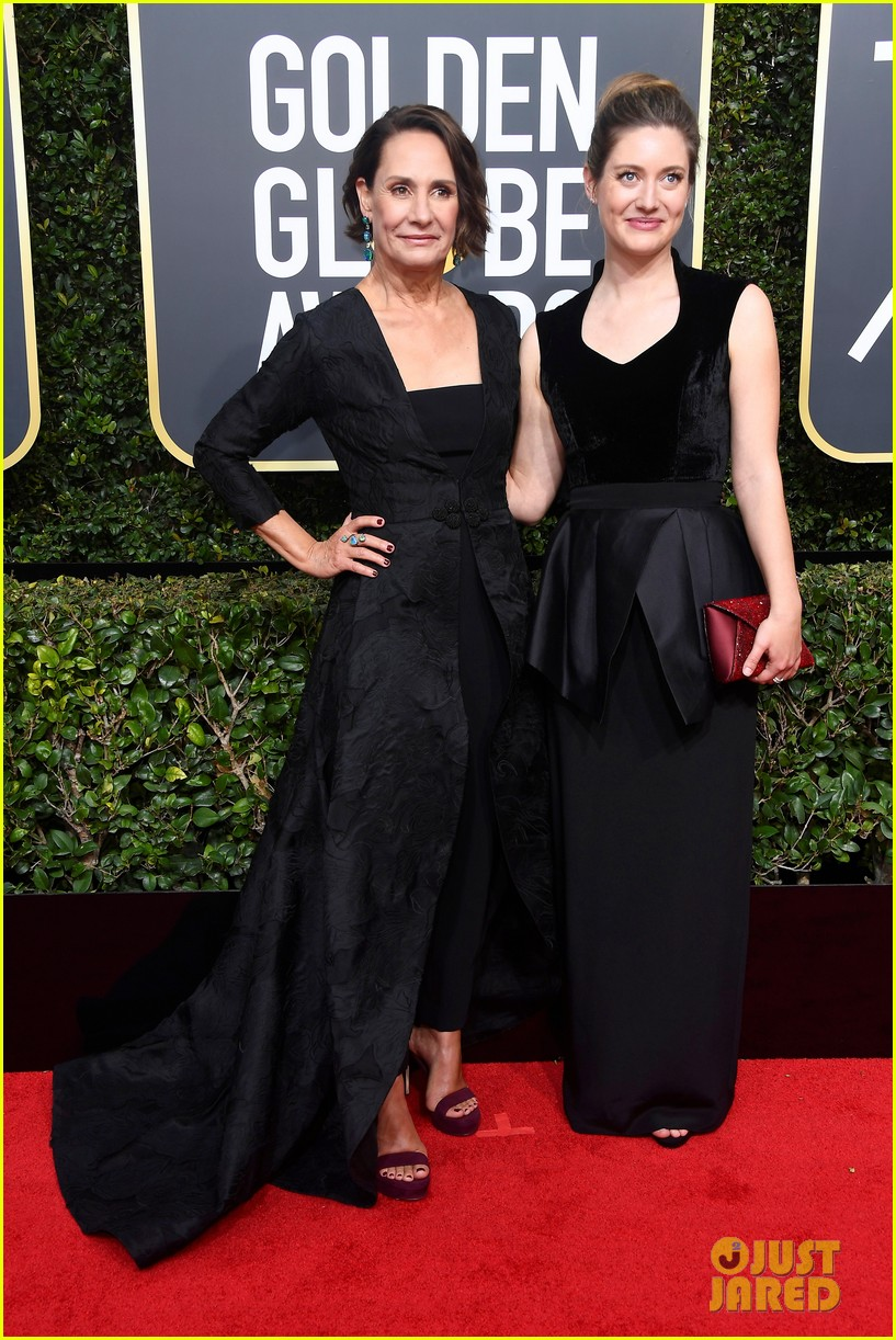 Laurie Metcalf Allison Janney Attend The Golden Globes