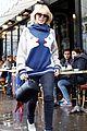 kylie minogue and melissa george get their fashion show fix in paris 05
