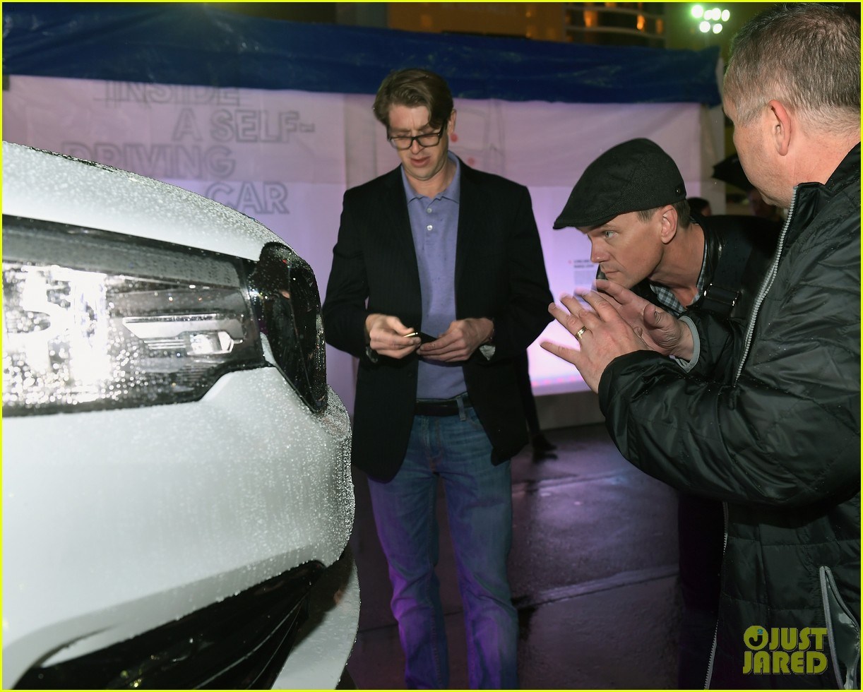 neil patrick harris checks out a self driving car with lyft 074012041