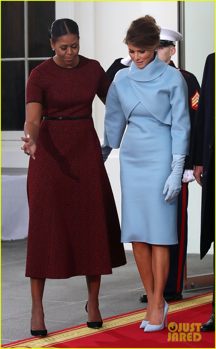 Michelle Reveals What The Trumps Gifted Her On Inauguration Day 2017