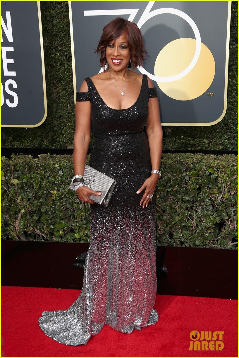 Oprah Winfrey S Partner Stedman Graham Joins Her At Golden