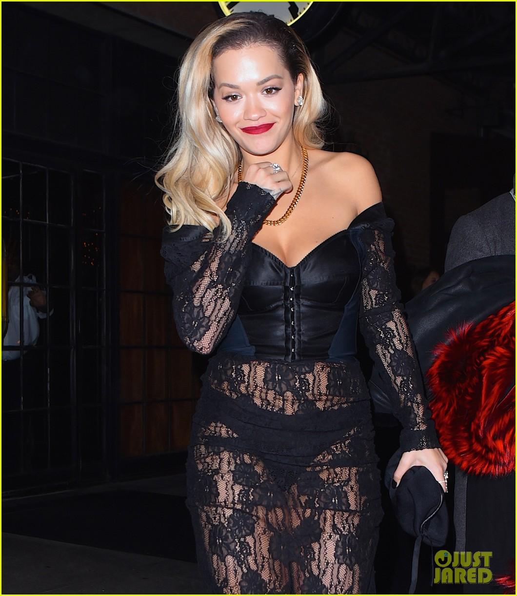 Watch Rita Ora Is Calvin Harris' Bond Girl' In Sexy Beach Snap video
