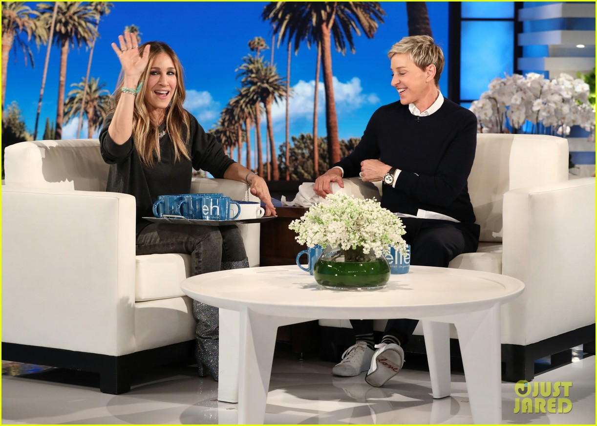 sarah jessica parker tells ellen that perhaps well find a way to do sex and the city 3 014015812