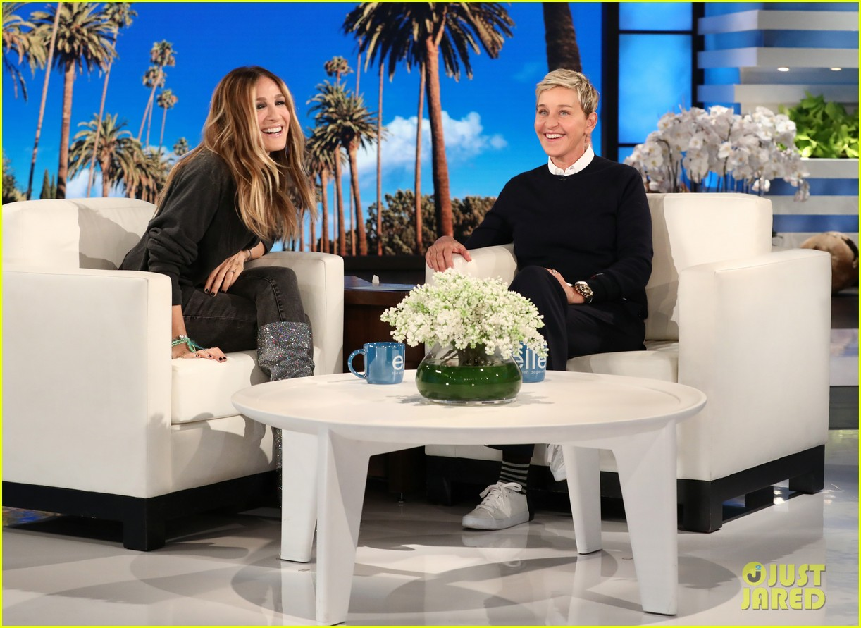 sarah jessica parker tells ellen that perhaps well find a way to do sex and the city 3 034015814