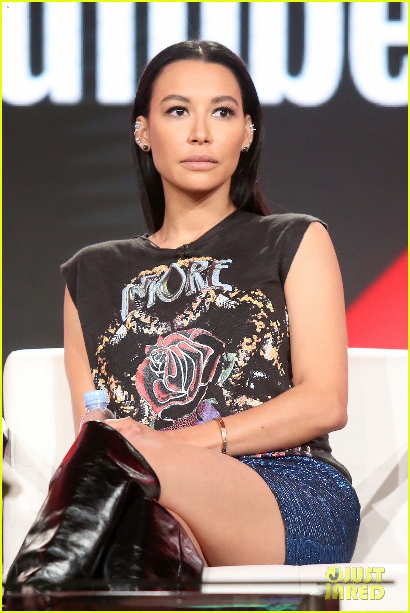 naya rivera makes first public appearance since arrest at winter tcas 2018 034014371