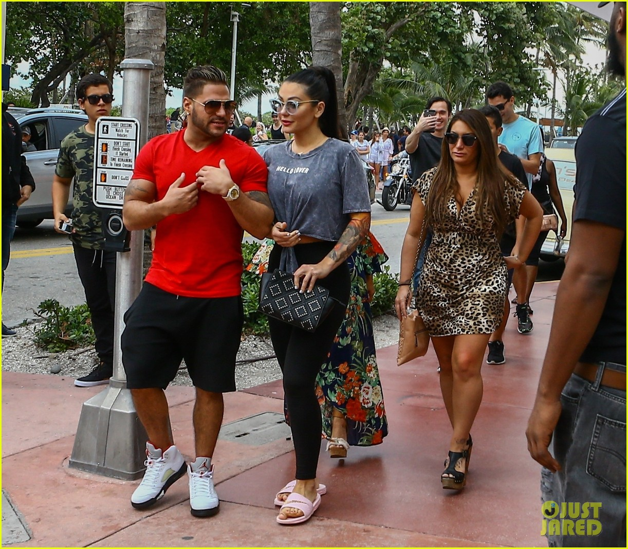 'Jersey Shore' Cast Begins Filming Reunion Show In Miami