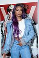 justine skye winnie harlow step out for uniqlo u x v magazine launch party 33