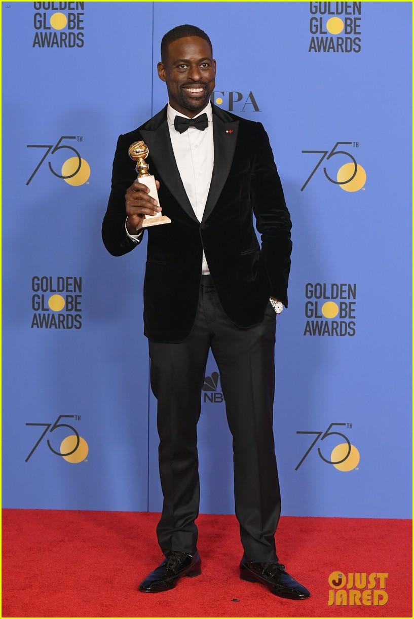 Sterling K. Brown Makes History at Golden Globes 2018, Gives ...