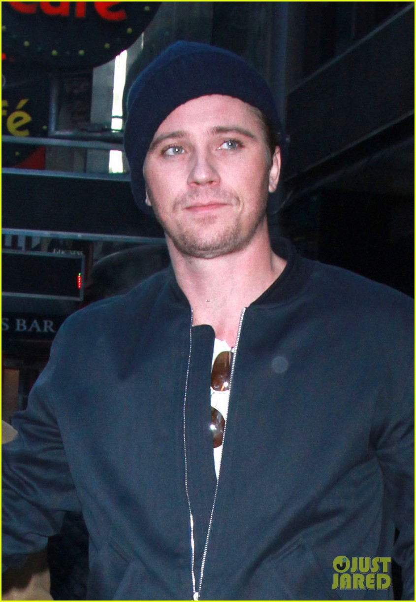 garrett hedlune sharon stone continue promoting mosaic in nyc 054016623