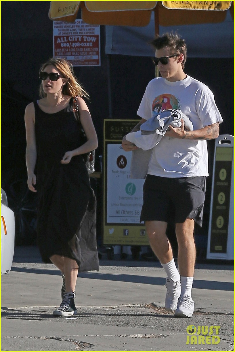 Spends Photo Time Harry Styles L.A.: Camille  with in Rowe