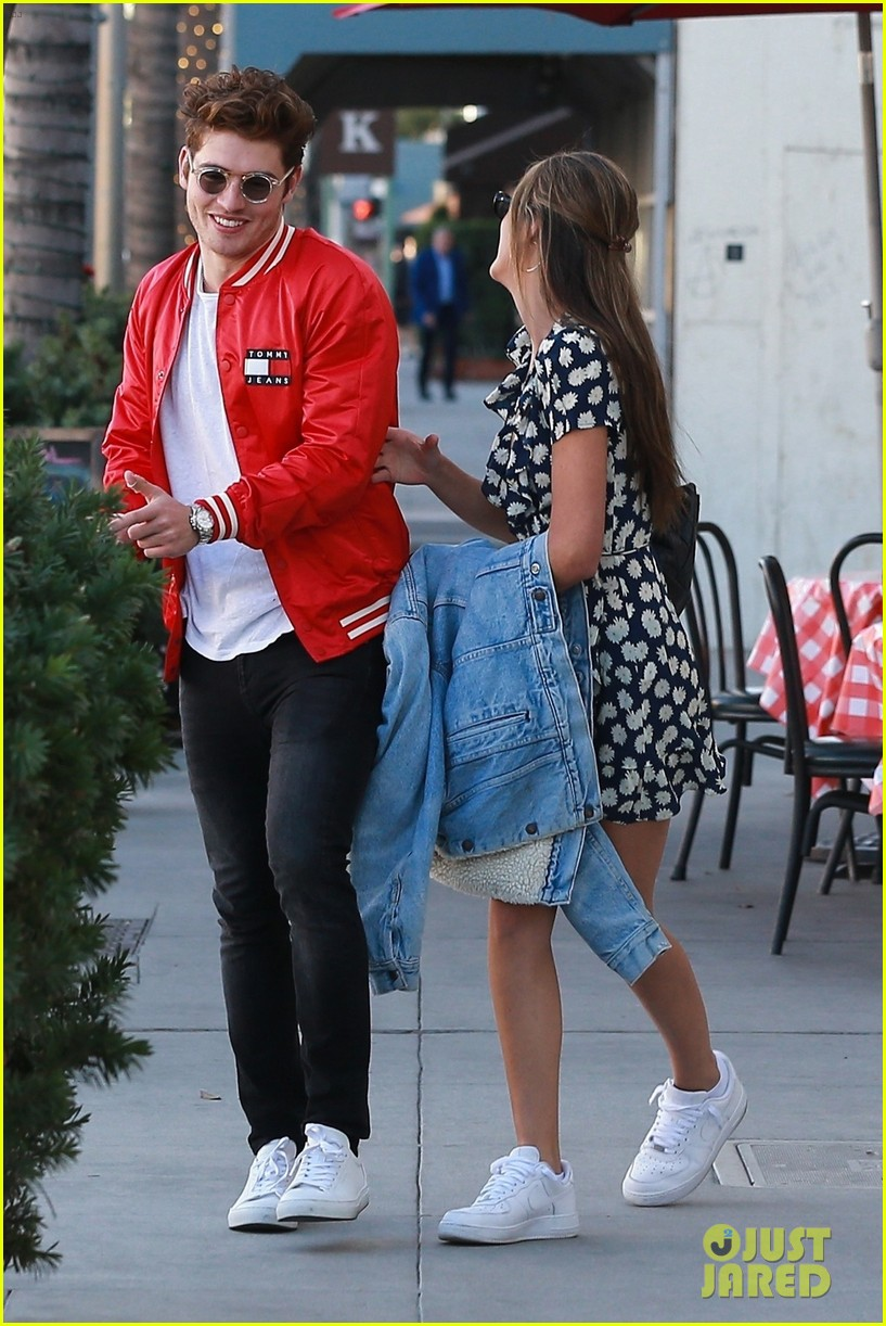 gregg sulkin hangs out with sistine stallone in beverly hills 014020861