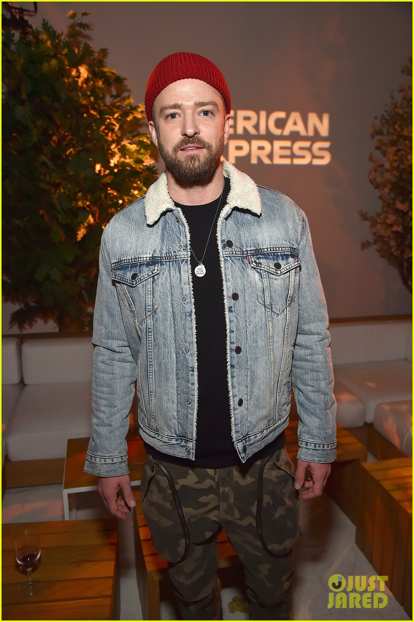 justin timberlake support from wife jessica biel man of the woods nyc listening session 014016248