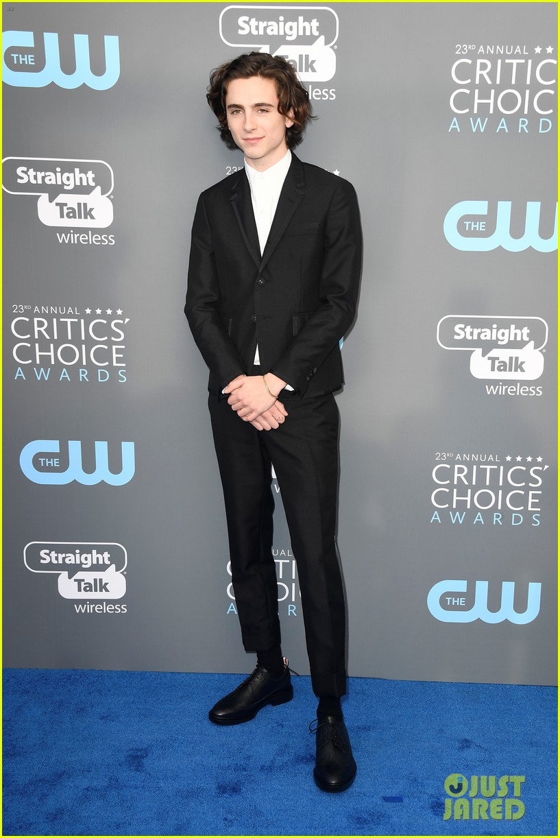 timothee chalamet critics choiec awards 2018 114012860