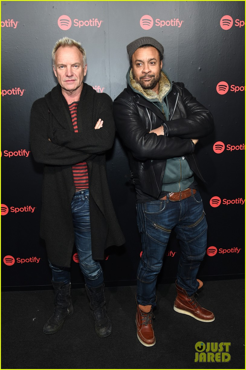 keith urban sting and shaggy join forces at spotifys best new artist party 024021644