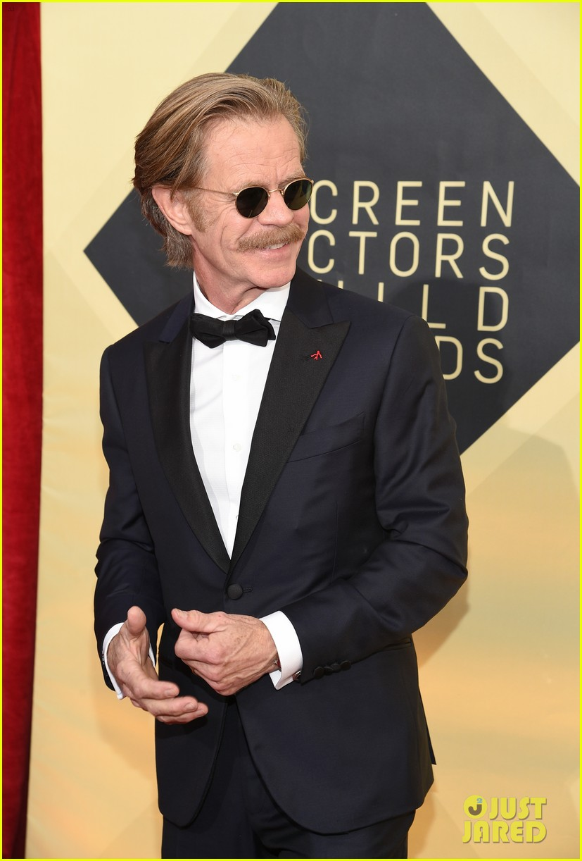 William H Macy Wins Best Actor In A Comedy Series At Sag Awards   Sag Awards Felicity Huffman Sag Awards William H Macy