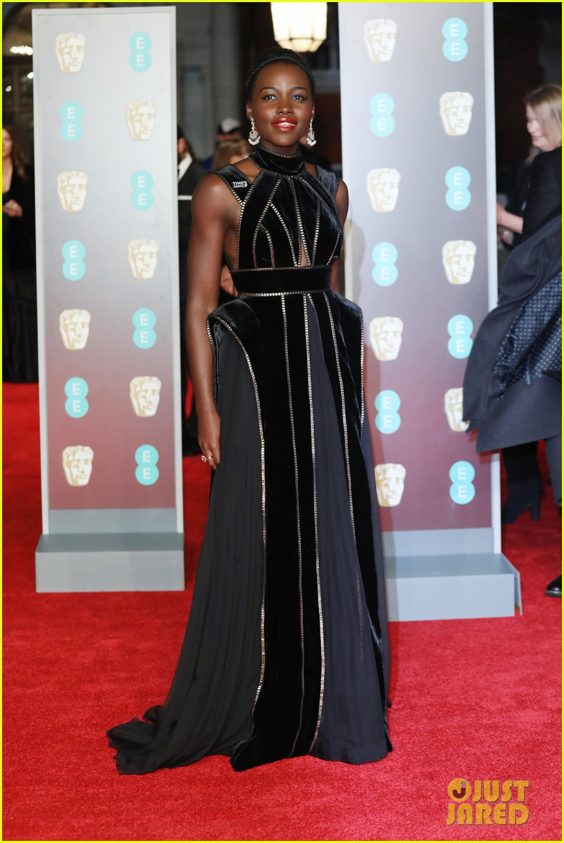 celebrities wearing black baftas 034035130