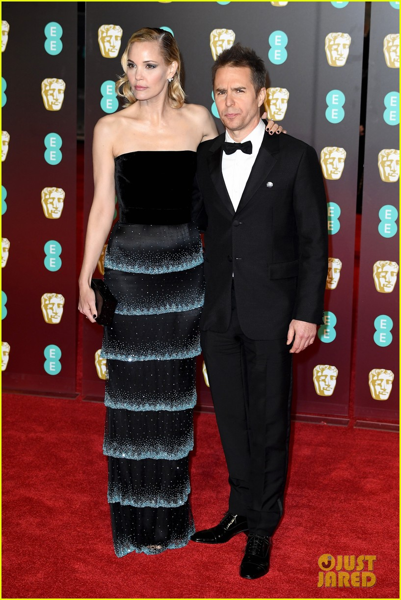 celebrities wearing black baftas 074035134